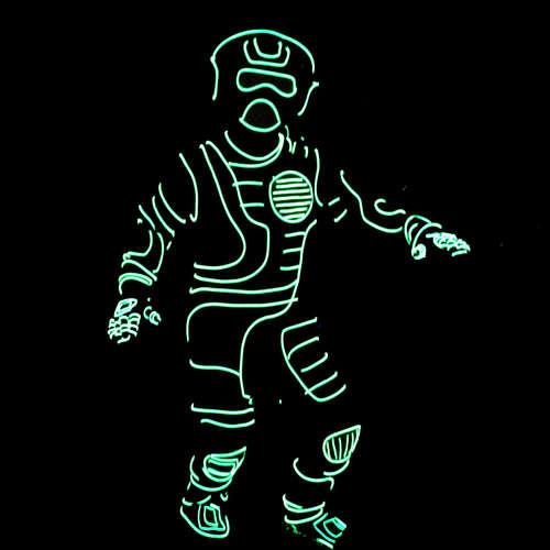 Neon Lights Mens Fashion