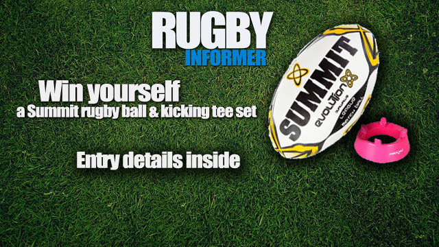 rugby informer summit ball competition