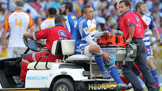 Bryan Habana injury