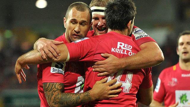 Reds Super rugby Round 13