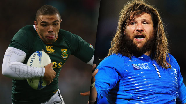 South Africa v Italy