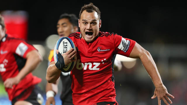 Israel Dagg Crusaders vs Chiefs
