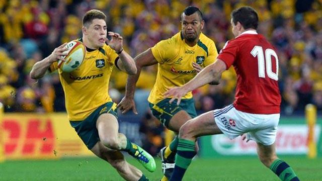 James OConnor try vs Lions