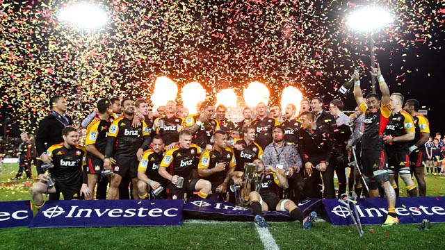 Chiefs Super Rugby 2013 champions
