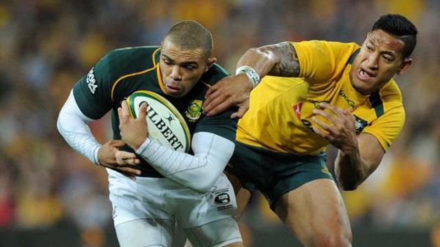 Springboks vs Wallabies