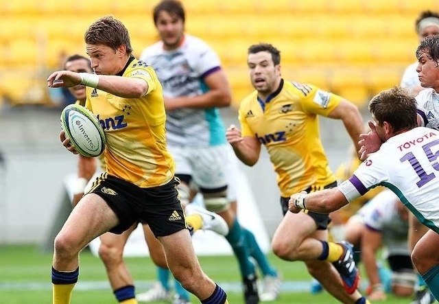 Beauden Barrett Hurricanes vs Cheetahs