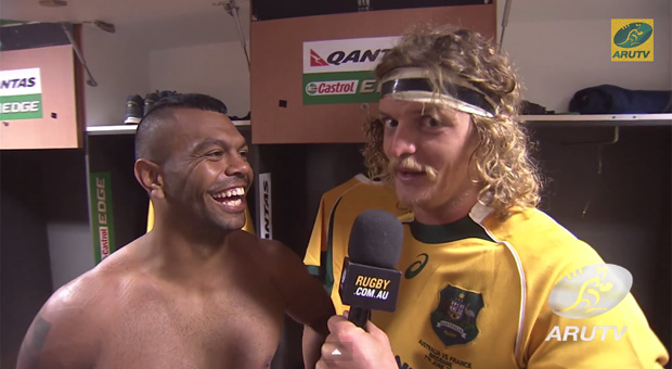 Nick Cummins Honey Badger interview