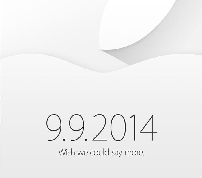 Apple invite iPhone 6