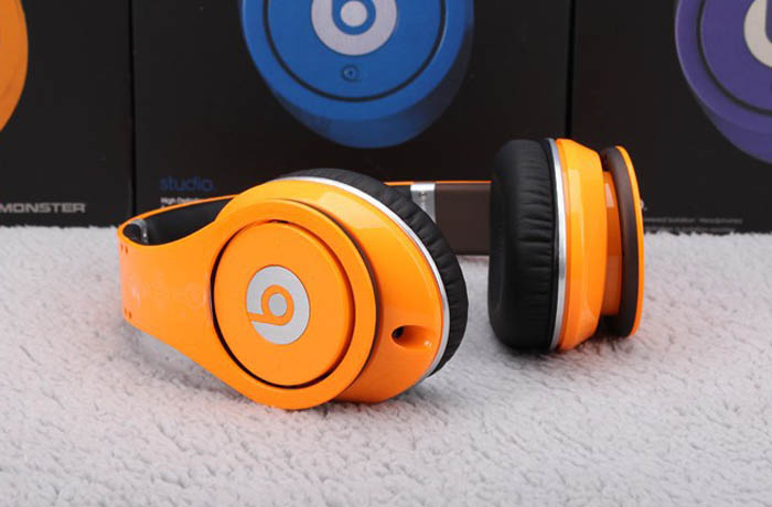 Beats by Dre Orange Edition