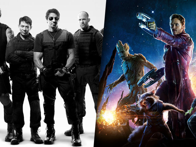 Expendables 3 Guardians of the Galaxy