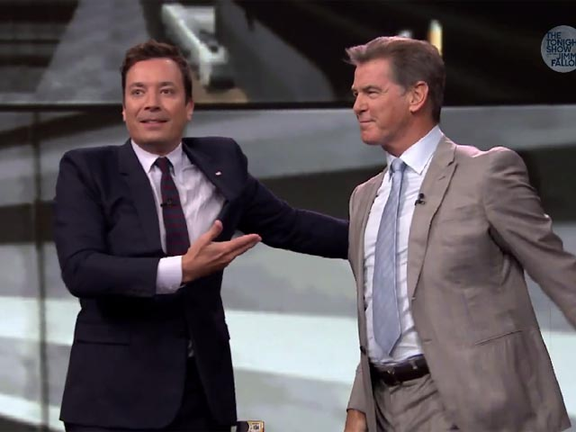 Jimmy Fallon Pierce Brosnan GoldenEye