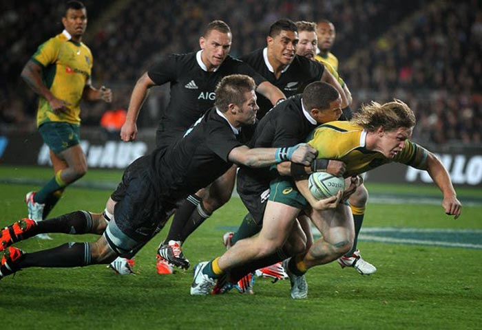 Michael Hooper vs All Blacks