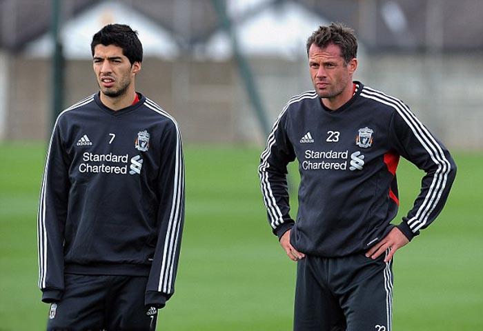 Suarez and Carragher