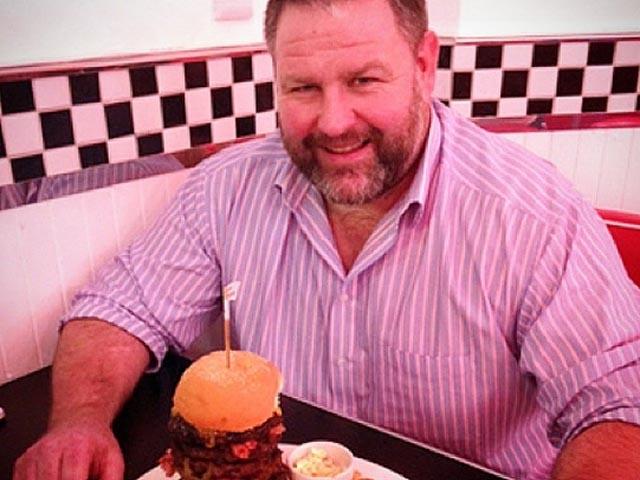 Tank Lanning Burger challenge