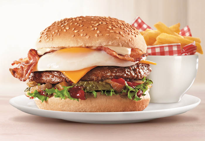 Wimpy Big Deal Burger