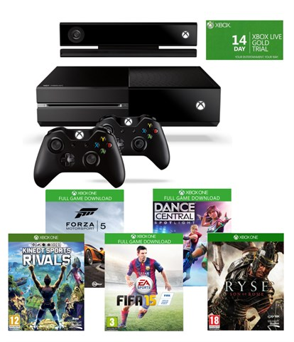 Xbox One Exclusive Kalahari bundle 2