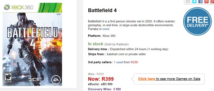 Battlefield 4 special from Kalahari