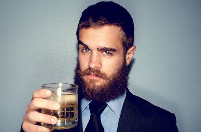 Beard toast