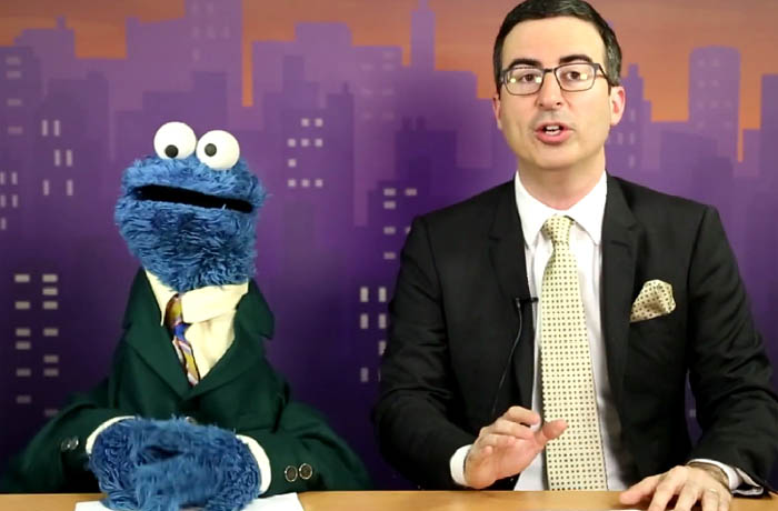 Cookie Monster John Oliver