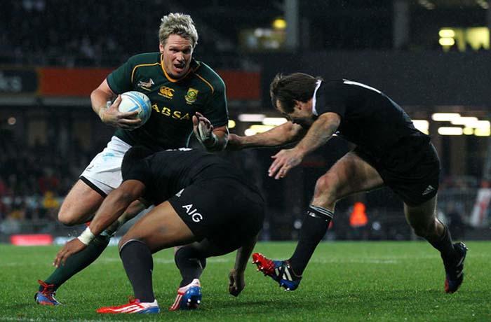 Jean de Villiers vs All Blacks