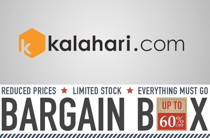 Kalahari Bargain Box sale