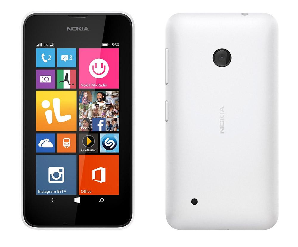 Lumia 530 white