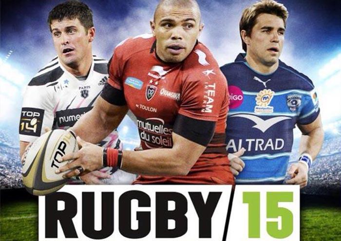 Rugby 15 box art