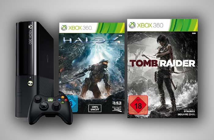 Xbox 360 Bundle header