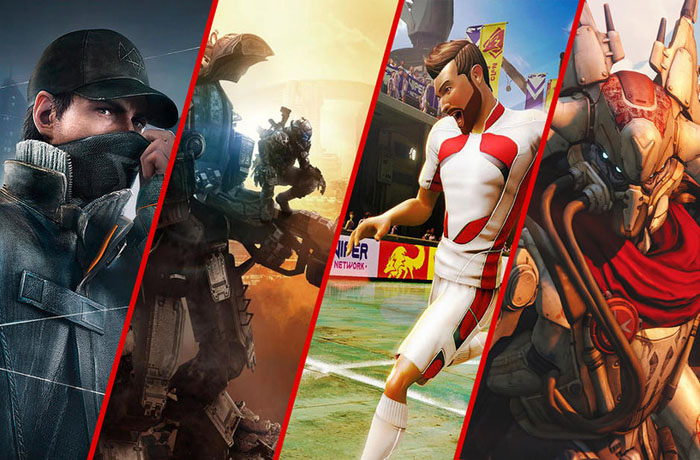 Xbox One games 1