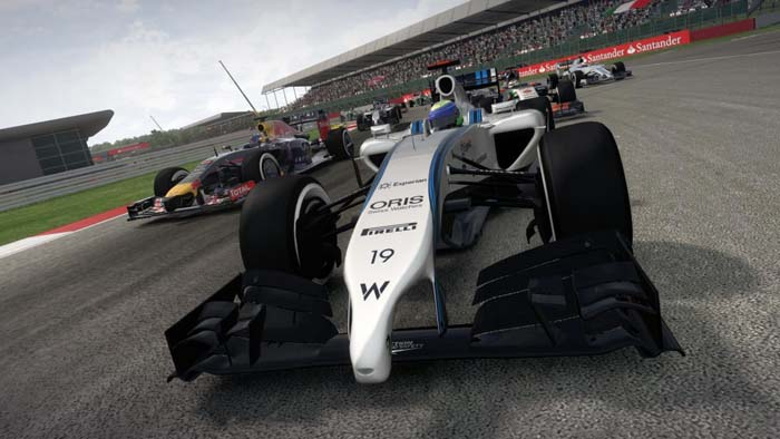 F1 2014 screenshot