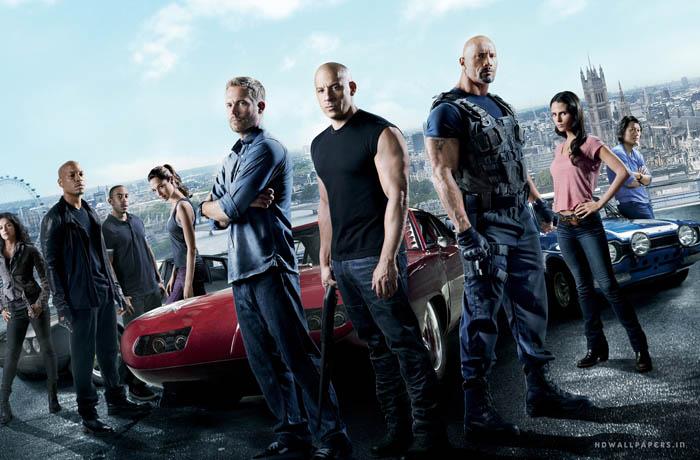 Fast & Furious 7 header