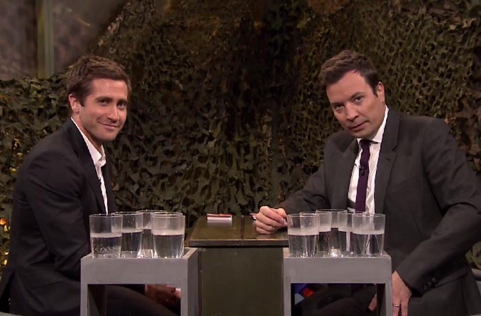 Gyllenhaal and Fallon Water war