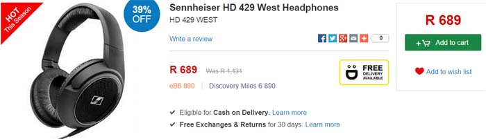 Sennheiser HD 429