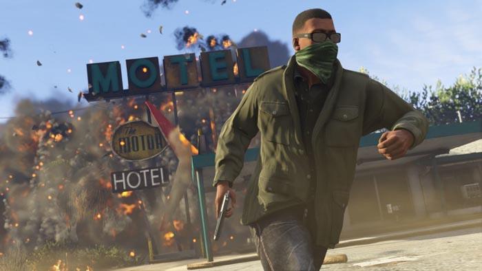 GTA V PS4 screenshot