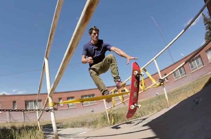 Skateboard backflip