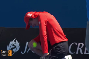Ball-Boy Takes A Serve Right Between The Legs [Video]