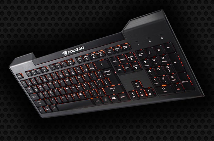 Cougar 200k keyboard header