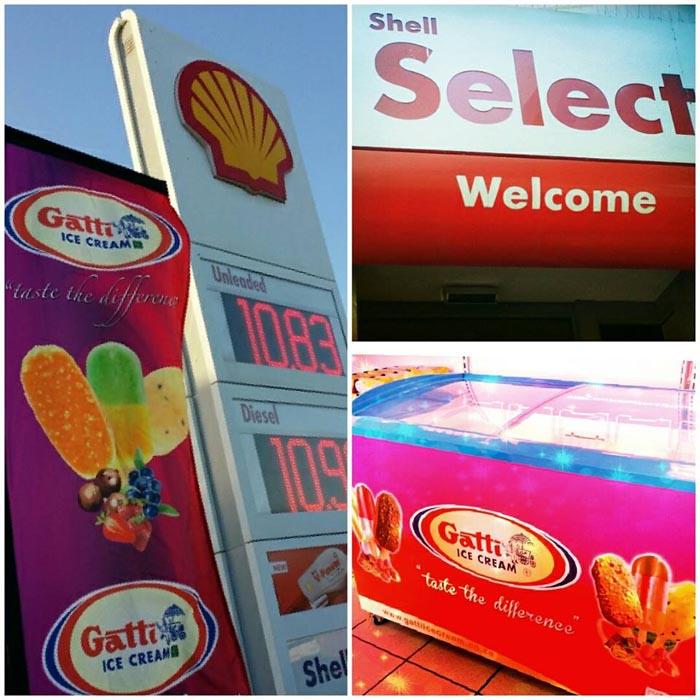 Gatti Ice Cream shell