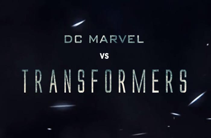 DC Marvel vs Transformers