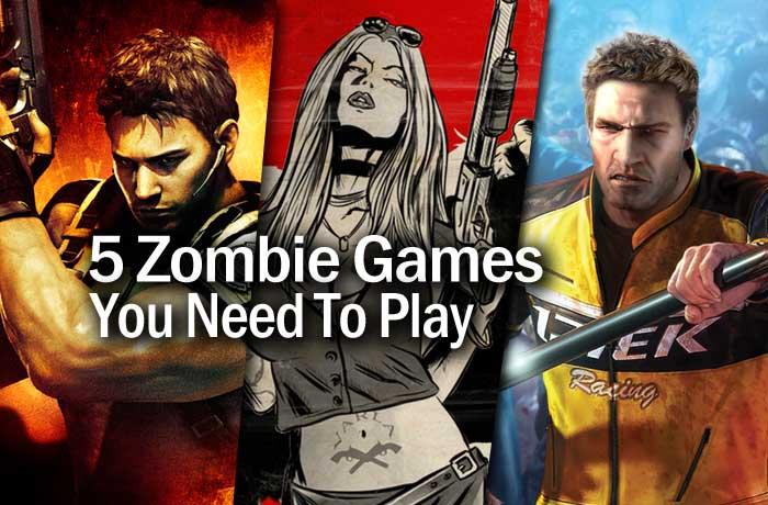 5 zombie games