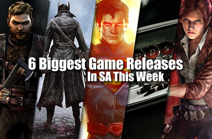 Game releases in SA this week
