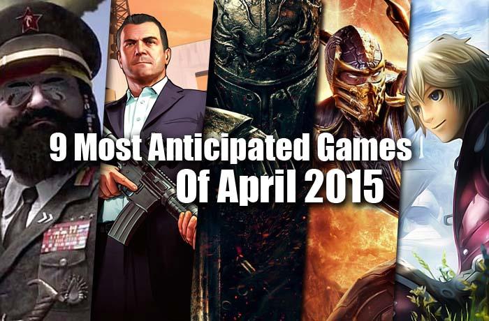 Games of April 2015