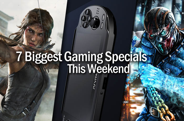 Gaming specials this weekend - March 13