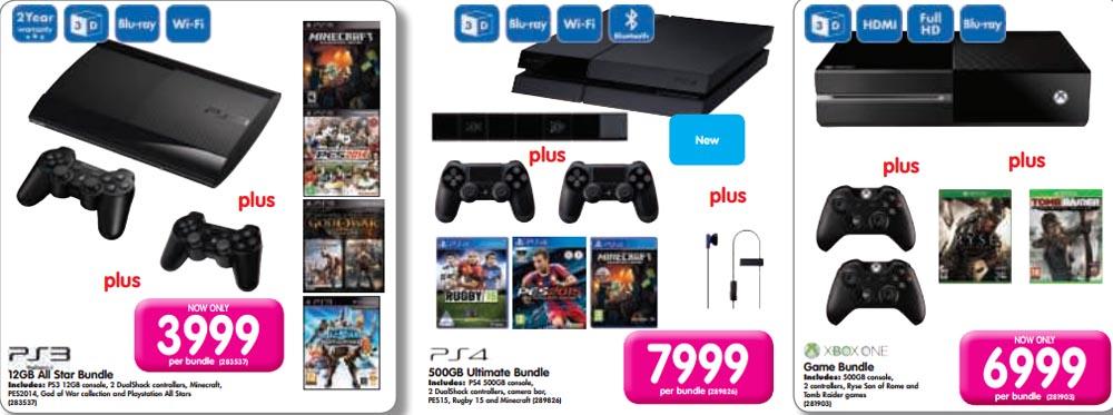 Makro console deals - March 12