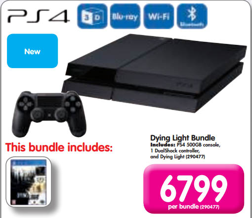 PS4 and Dying Light bundle
