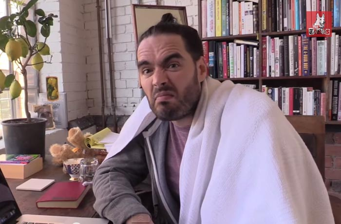 Russell Brand on the apple Watch