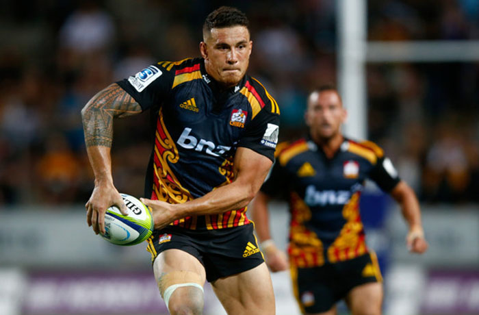 Sonny Bill Williams Chiefs 2015