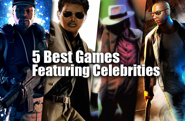 5 best games featuring celebrities