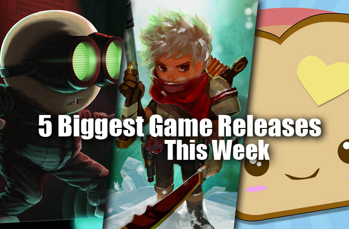 5 biggest game releases this week
