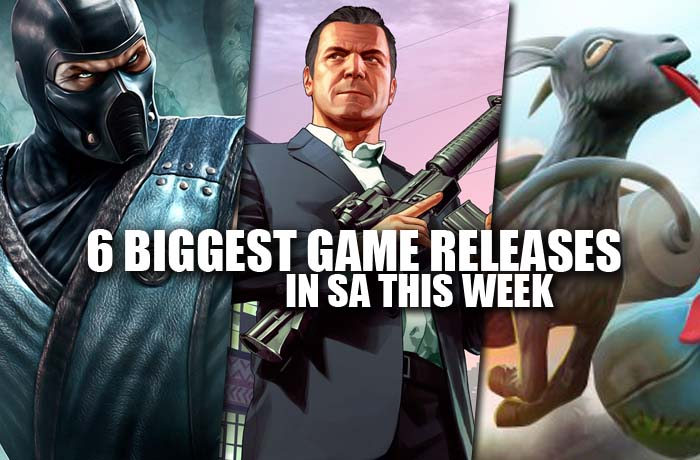 6 biggest game releases in sa this week